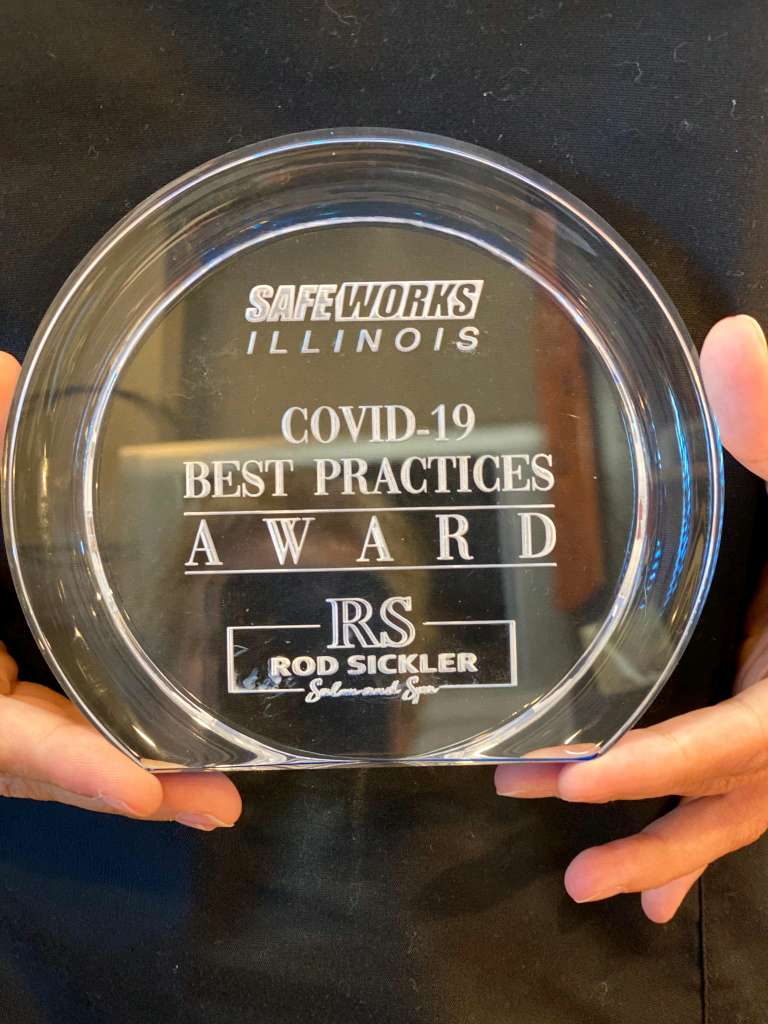 Rod Sickler Salon & Spa Receives the First COVID-19 Safety Award